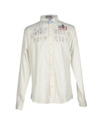 Beverly Hills Polo Club Shirts Shirts Men White