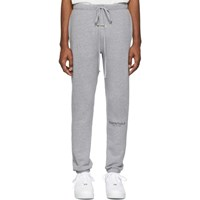 Essentials Grey Reflective Lounge Pants