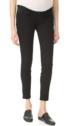 Madewell Maternity Skinny Jeans Black Frost