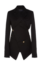 Proenza Schouler Double Breasted Blazer Black