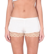 Myla Isabella French Knickers Ivory Nude