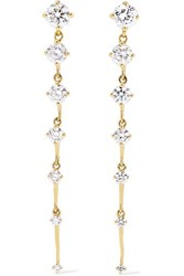 Fernando Jorge Sequence 18 Karat Gold Diamond Earrings