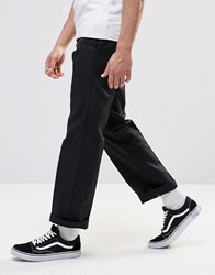 Dickies 873 Work Pant Chino In Straight Fit Black