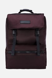 Ami Alexandre Mattiussi Plain Backpack Pink And Purple
