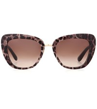 Dolce And Gabbana Cat Eye Sunglasses Multicoloured