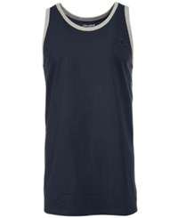 Champion Men's Classic Ringer Tank Top Navy