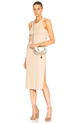 Cotton Citizen Melbourne Tank Midi Dress In Nude