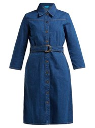 M.I.H Jeans Aria Denim Shirtdress Blue