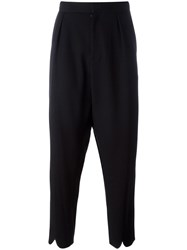 J.W.Anderson Pleated Back Trousers Black