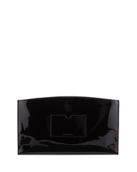 Reed Krakoff Atlantique Patent Leather Zip Pouch Black