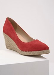 Mint Velvet Grace Red Pointed Wedge Red
