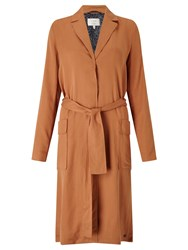 Numph Irja Trench Coat Pecan Brown