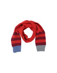 Paul Smith Accessories Oblong Scarves Men Red