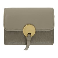 Chloe Grey Indy Trifold Wallet