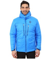 Black Diamond Stance Belay Parka Atlantis Men's Clothing Blue