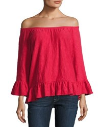 Sanctuary Juliana Off The Shoulder Top Black