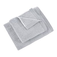 Moeve Marble Plain Towel Snow Silverstone Grey