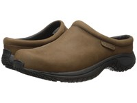 Merrell Encore Slide Pro Grip Nubuck Brown Men's Slip On Shoes