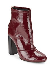 French Connection Capri Side Zipper Ankle Boots Zinfandel