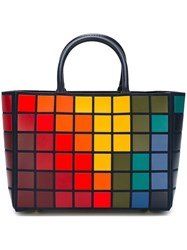 Anya Hindmarch 'Pixels' Tote Blue
