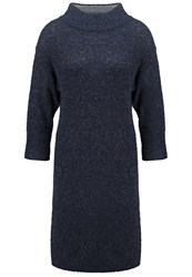 Part Two Bamirra Jumper Dress Dark Blue Melange