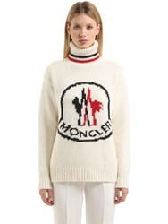 Moncler Gamme Rouge Cashmere Blend Tricot Sweater