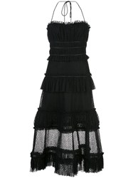 Alexis Angelia Halterneck Dress Black