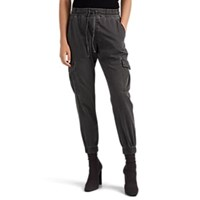 Nsf Johnny Cotton Cargo Jogger Pants Black