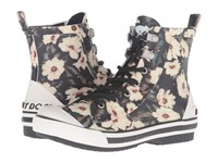 Rocket Dog Rainy Black Midnight Floral Women's Boots Multi