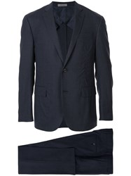 Corneliani Formal Two Piece Suit Blue
