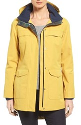 Pendleton Women's Hooded Rain Coat Goldenrod
