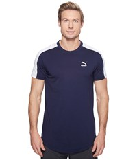 Puma T7 Tee White Peacoat Men's T Shirt