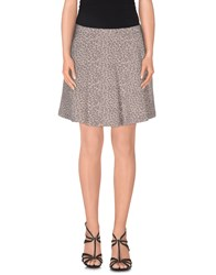 Tommy Hilfiger Denim Skirts Mini Skirts Women Grey