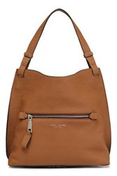 Marc Jacobs Textured Leather Tote Light Brown