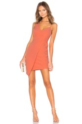 Bcbgmaxazria Micaila Asymmetrical Dress Coral