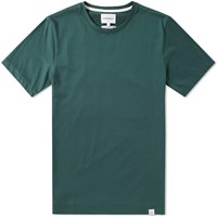Norse Projects Esben Blind Stitch Tee Green
