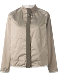 Fay Military Style Jacket Nude And Neutrals
