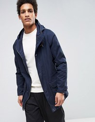 Selected Homme Parka With Drawstring Waistband Navy