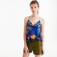 J.Crew Carrie Cami In Tropical Floral Print