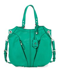 Victoria Leather Tote Bag Grass Oryany Green