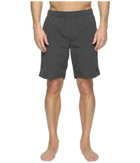 The North Face Class V Pull On Trunk Long Asphalt Grey Men's Swimwear Gray