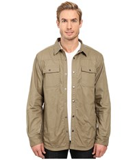 Columbia Log Vista Shirt Jacket Flax Grey Buffalo Plaid Men's Long Sleeve Button Up Beige