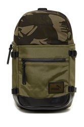 Puma Shinjuku Sling Backpack Green