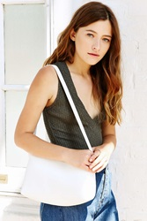 Silence And Noise Silence Noise Folded Clutch Crossbody Bag White