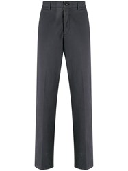 Z Zegna Slim Fit Chinos Grey