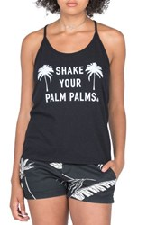 Volcom Women's Palm Palms Graphic Tank
