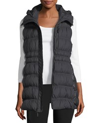 The North Face Cryos Hooded Down Puffer Vest White