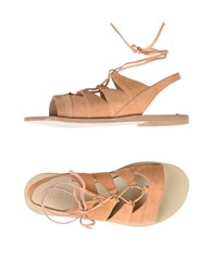 Atos Lombardini Sandals Apricot