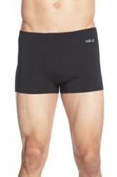 Naked Luxury Micromodal Trunks Black