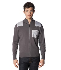 Jeep Cardigan Dark Grey Dark Gray